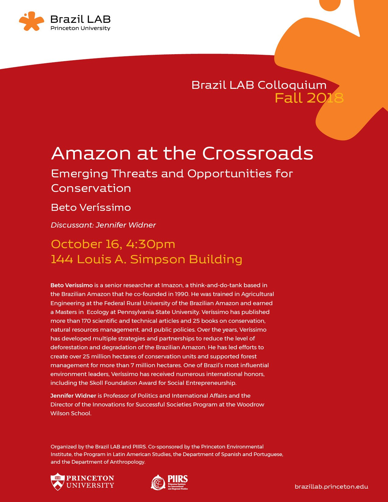Amazon at the Crossroads flyer