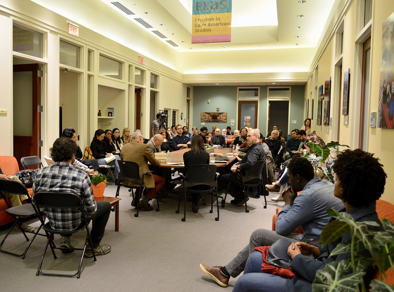 The event, held in the atrium of the Program of Latin American Studies.