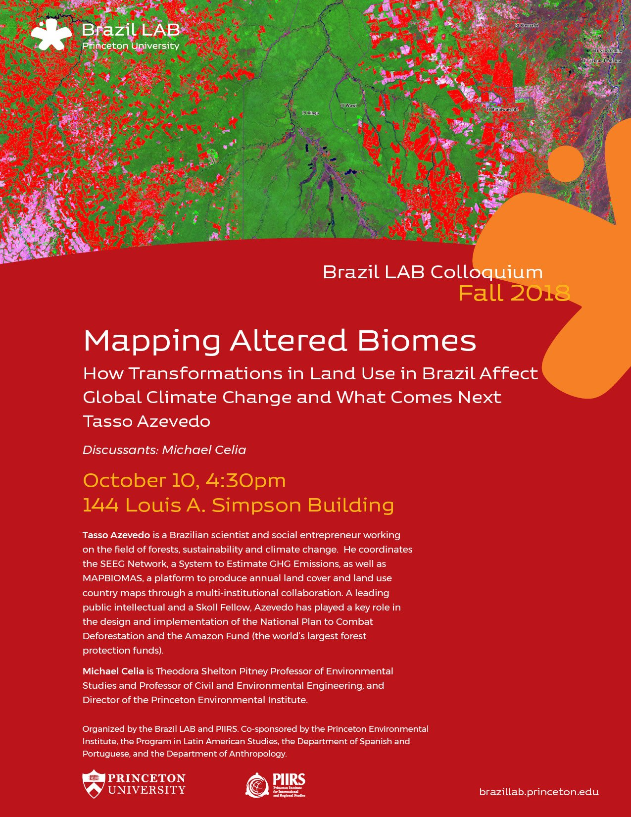 Mapping Biomes poster