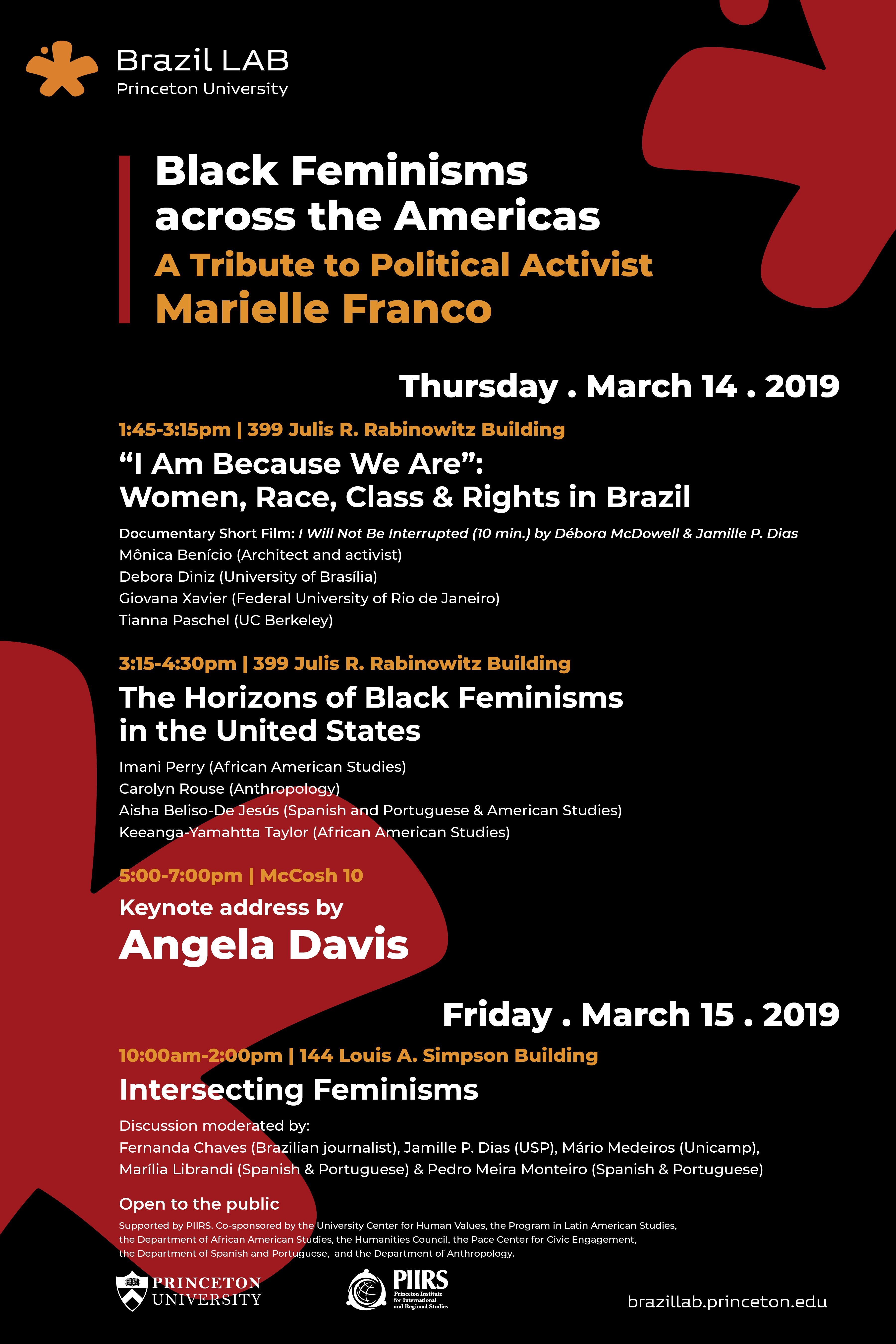 Black Feminisms across the Americas: A Tribute to Political Activist