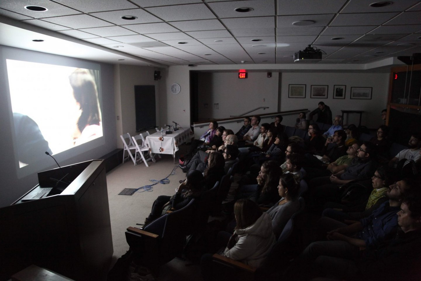 The audience at Brazil Lab's screening of The Trial.